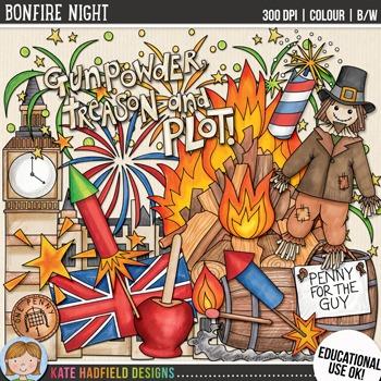 Bonfire Night Clip Art in 2019.