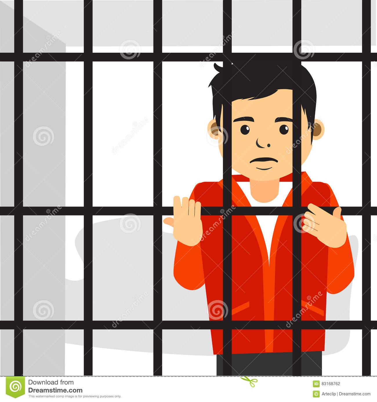 Jail Cartoon Clipart.