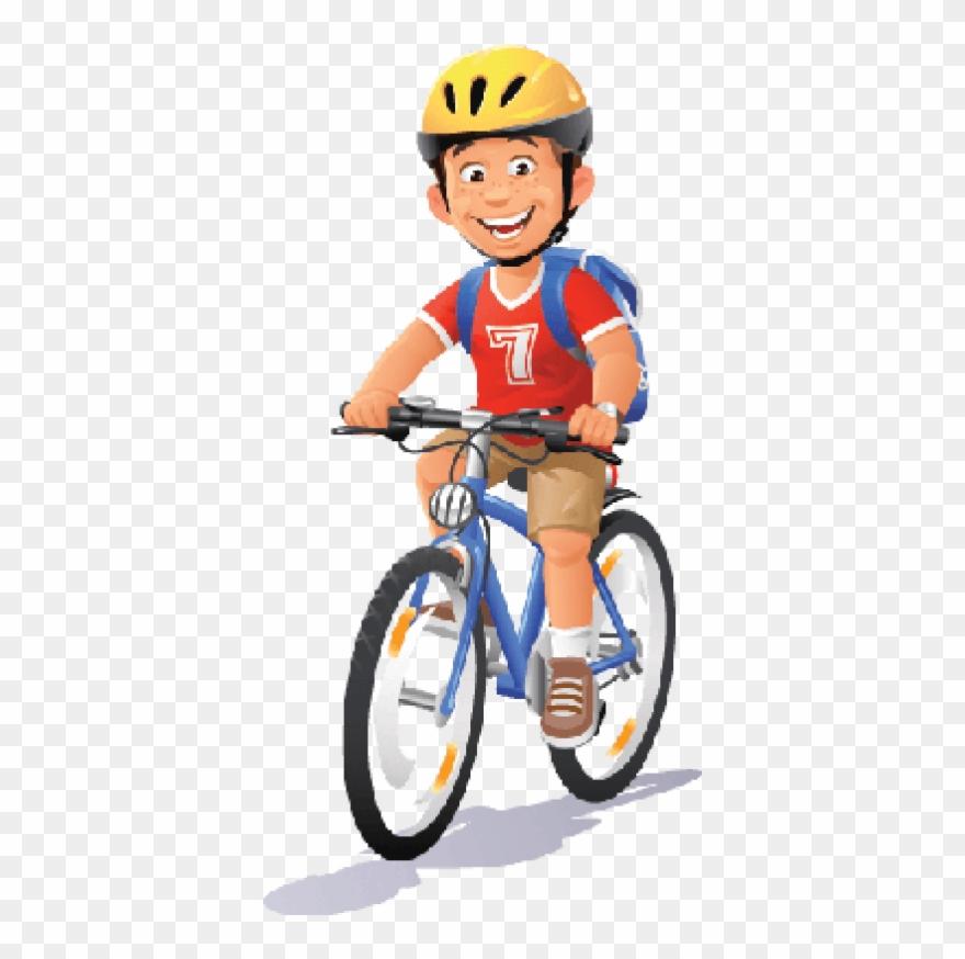 Bikes And Bicycles Boy Ridi.