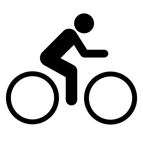 3099 Bike free clipart.