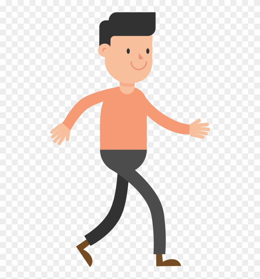 Clipart walking walking guy, Clipart walking walking guy.