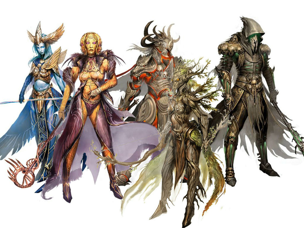Guild Wars 2 Clipart.