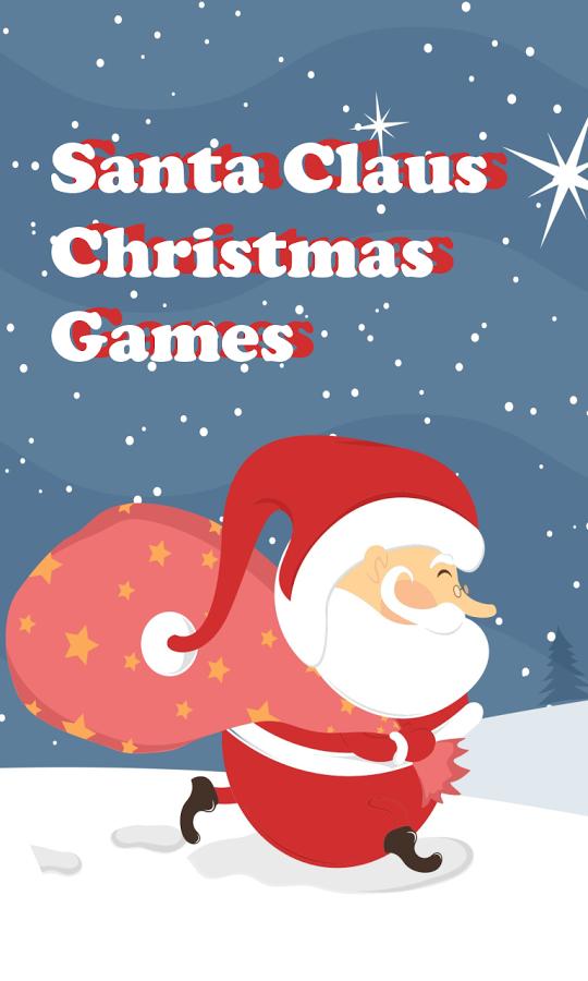 Santa Jump for Christmas Gift.