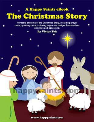 Happy Saints: The Happy Saints Christmas Story eBook.