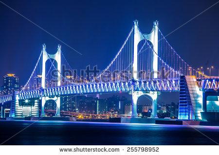 Gwangan Bridge Stock Photos, Royalty.