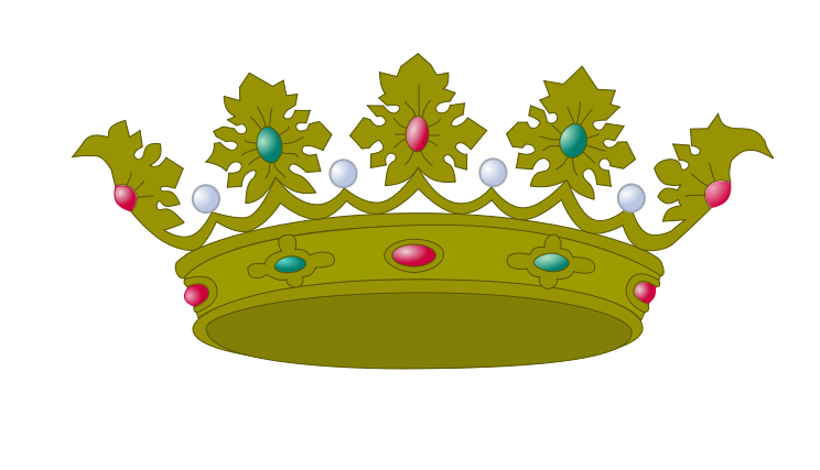 "Can you guys help me find images of clipart ""crowns"" please!."