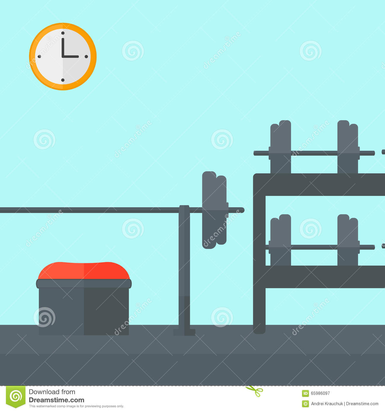 Gym Background Clipart.