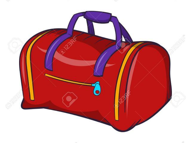 41+ Duffel Bag Clipart.
