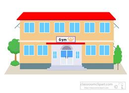 Download gym building clip art clipart Fitness Centre Clip art.