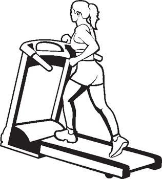 Clip Art Gym Women Clipart.