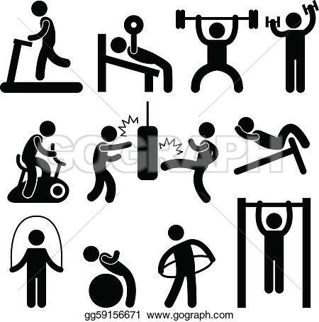 Gym Clip Art.