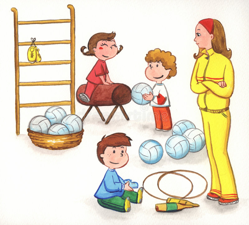 Gym clipart for kids 5 » Clipart Station.