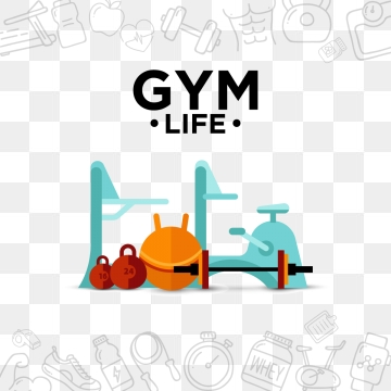 Gym Equipment PNG Images.