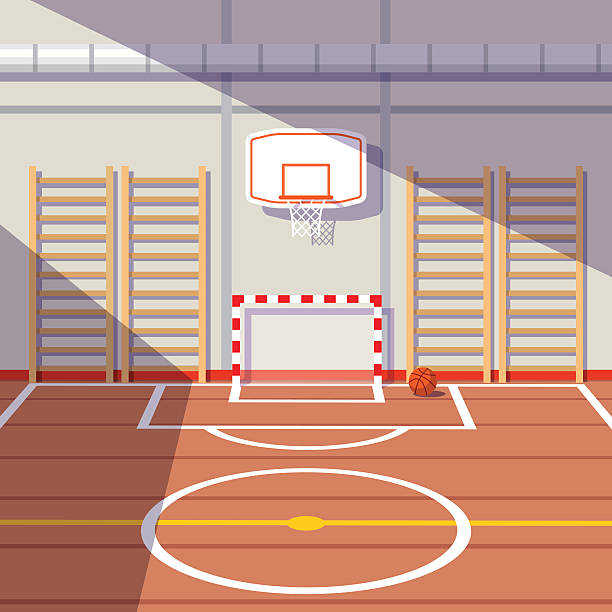 Best Gym Floor Illustrations, Royalty.