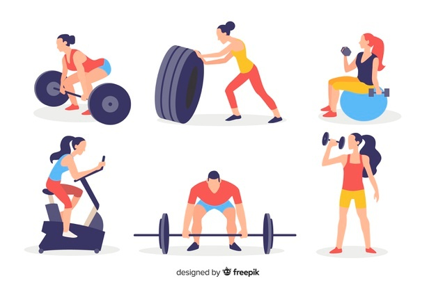 Gym Vectors, Photos and PSD files.