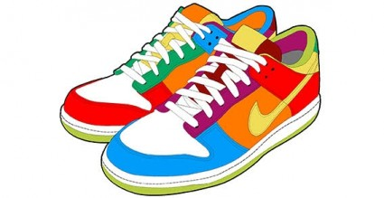 Gym shoes clipart » Clipart Station.
