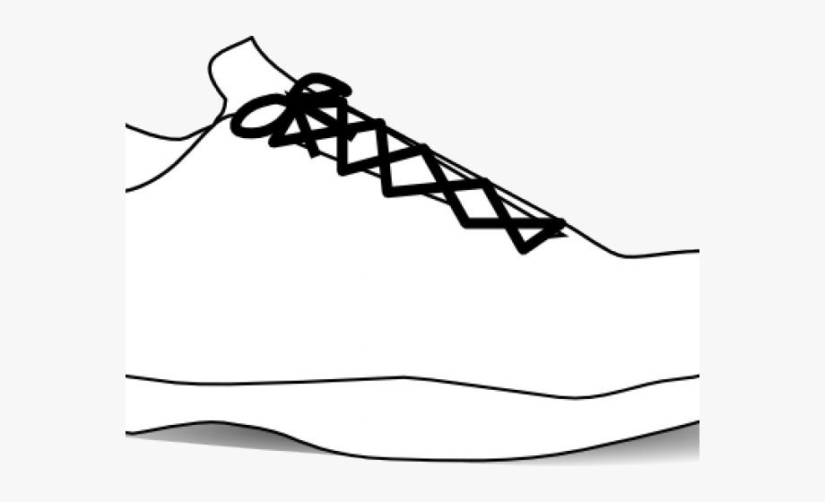 Gym Shoes Clipart Blank.
