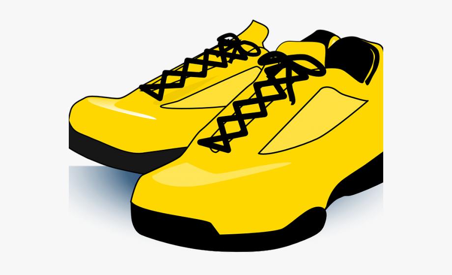 Gym Shoes Clipart Pe Kit.
