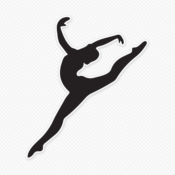 Free Gymnastics Silhouette Cliparts, Download Free Clip Art, Free.