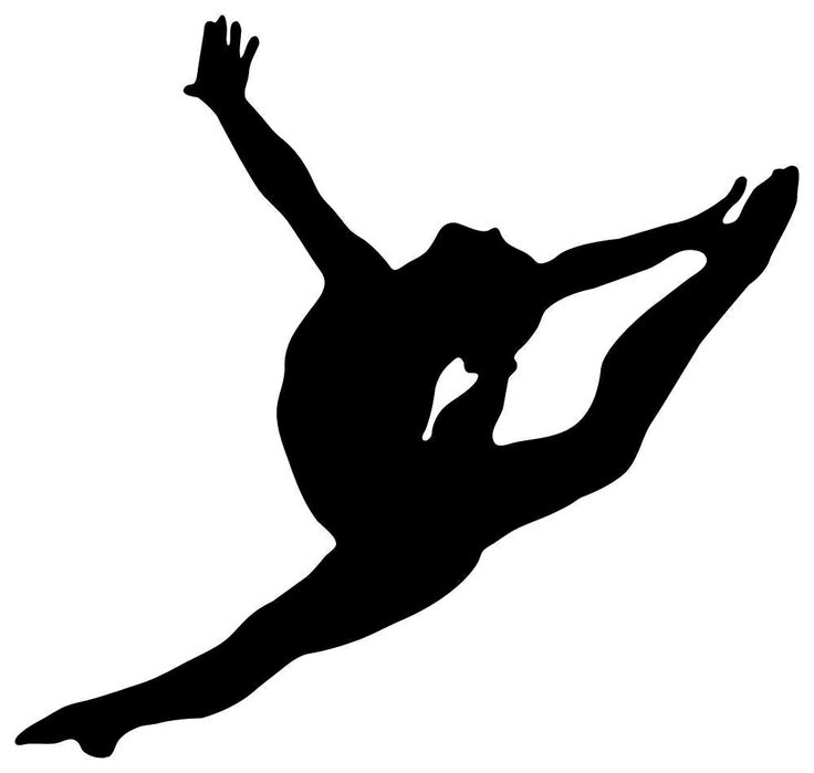 1067 Gymnast free clipart.