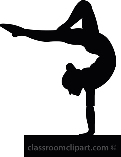 Free Gymnastics Clipart Pictures.