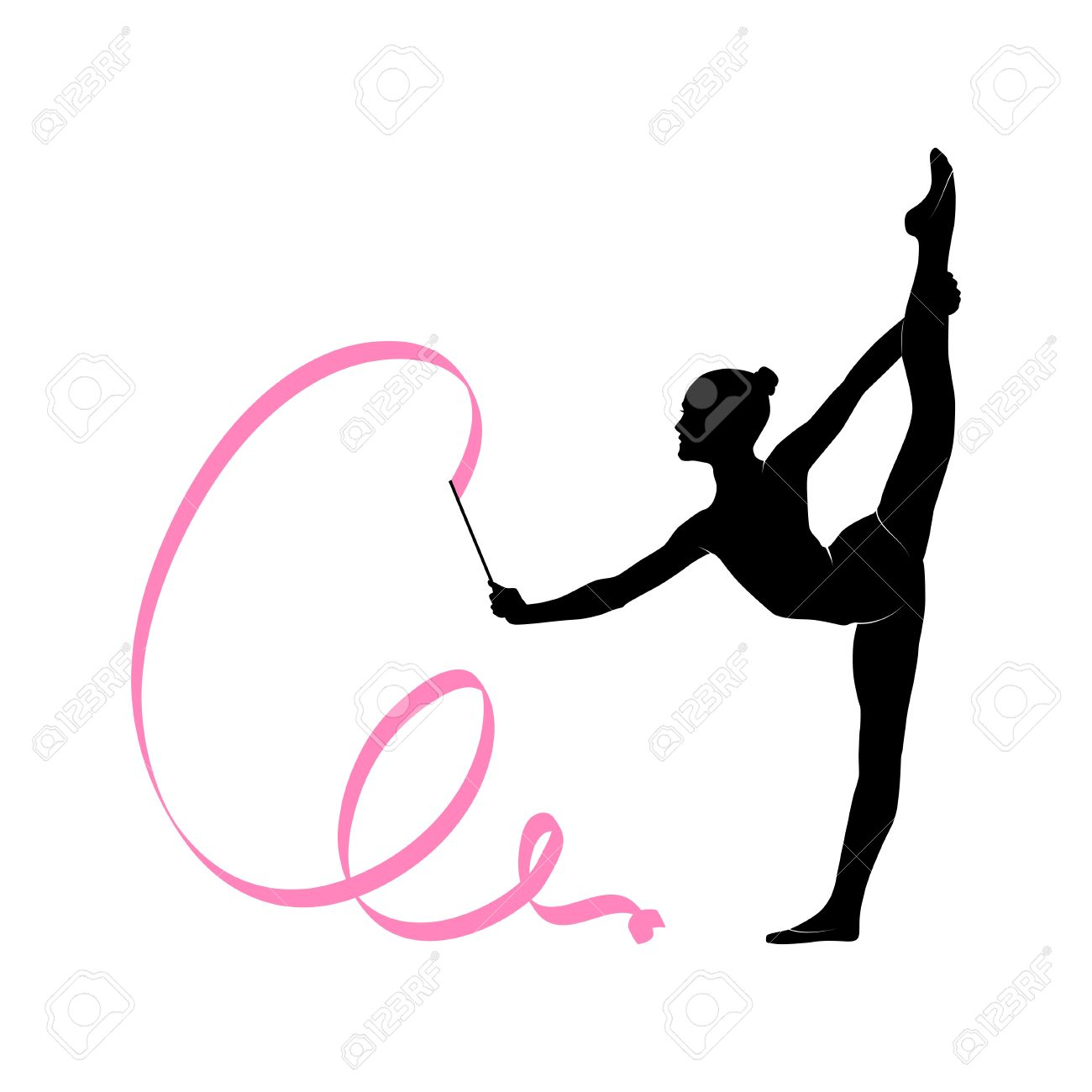 Gymnast Clipart Dance Wallpaper.