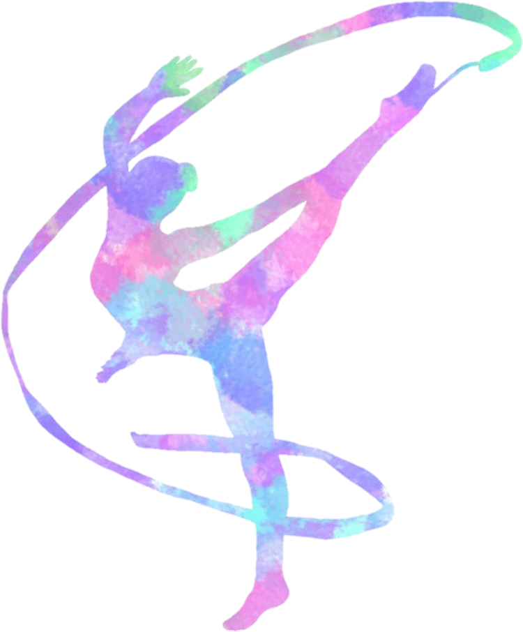 Download Hd Gymnastic Rhythmicgymnastics Clipart.