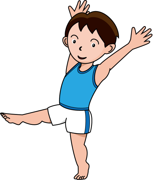 Gymnastics clipart kids » Clipart Station.