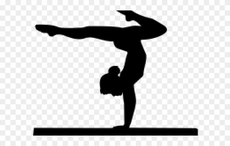 Gymnastics Clipart Shadow.