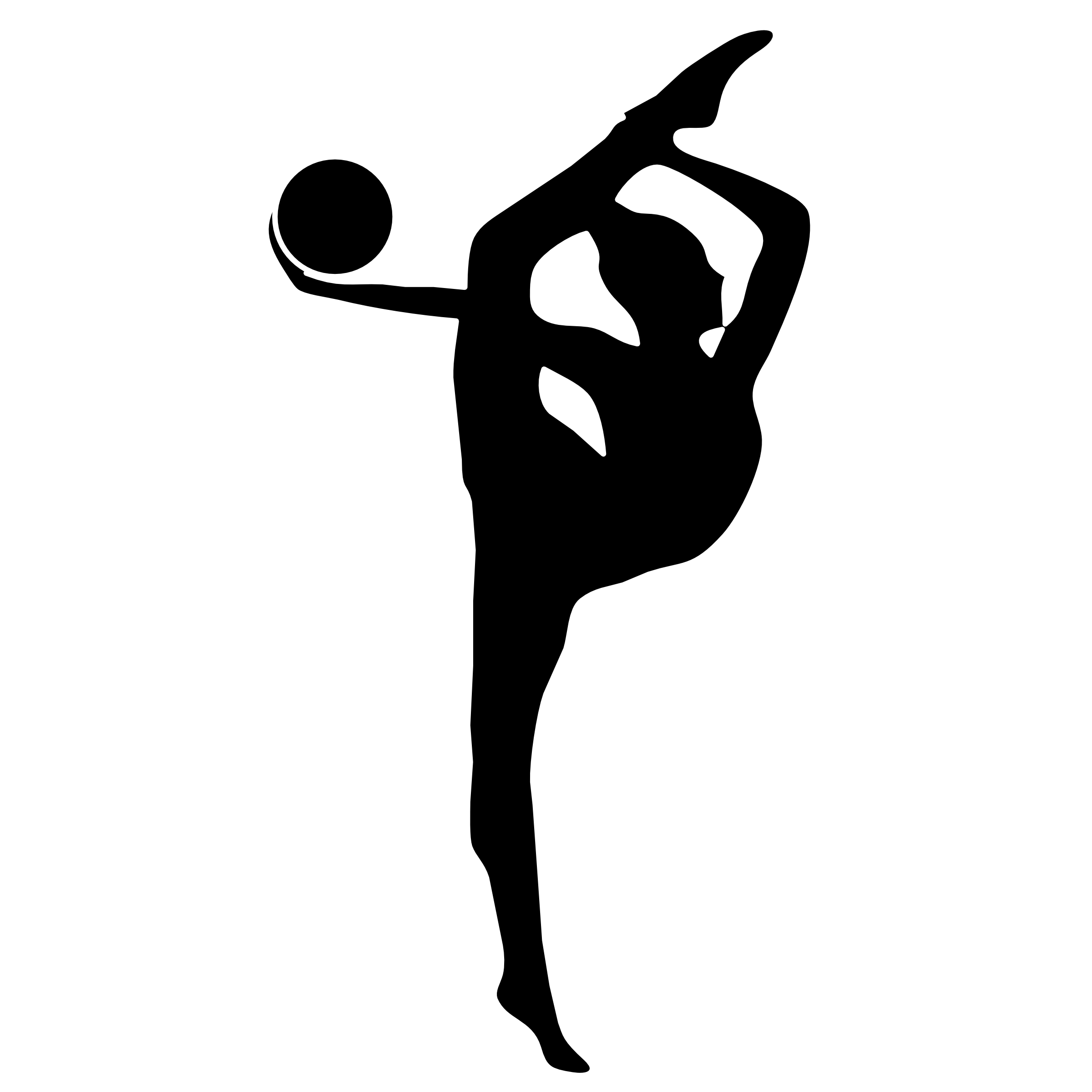 Free Gymnastics Silhouette Png, Download Free Clip Art, Free.
