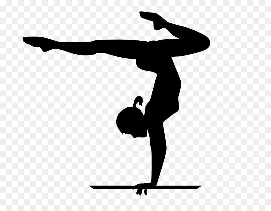4846 Gymnastics free clipart.