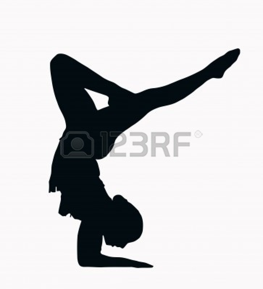 Gymnastics Clipart Silhouette Bars Clipground