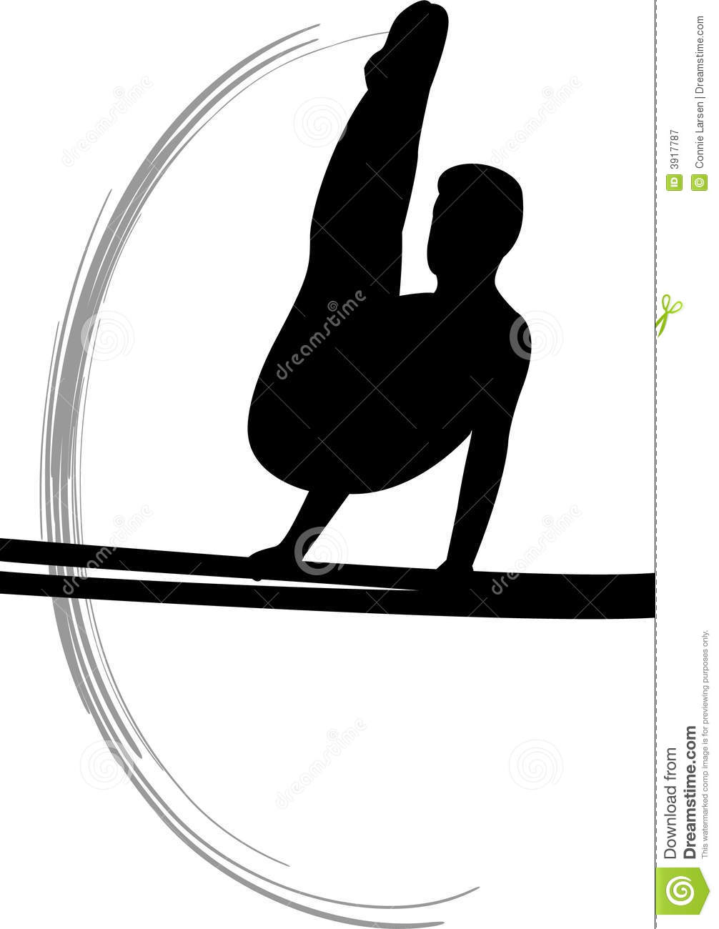 Gymnastics Clipart Silhouette Bars Clipground