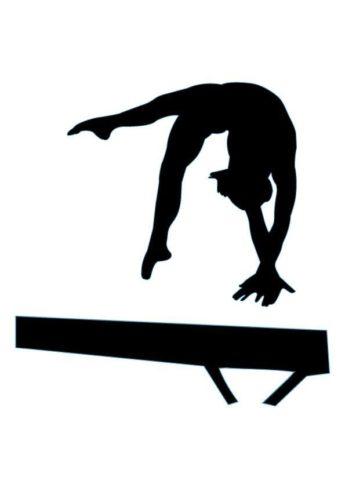 gymnastics clipart silhouette bars 20 free Cliparts ...
