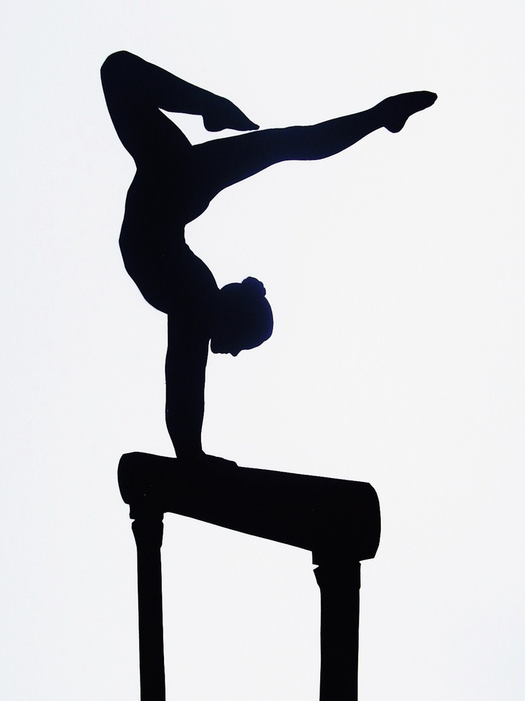 28 best images about Gymnastics Silhouettes on Pinterest.