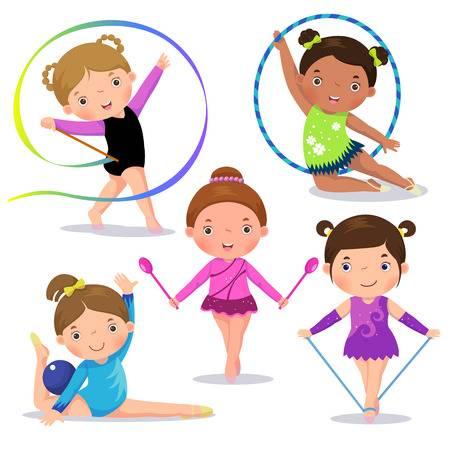 Gymnastics clipart kids 5 » Clipart Station.
