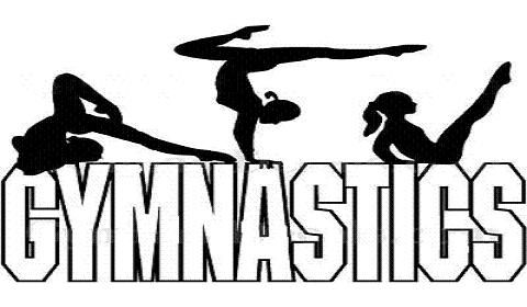 Gymnastics clipart tumbling free clipart images clipartcow.