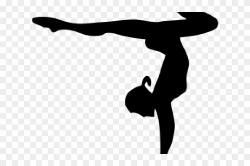Gymnast Clipart Shadow.