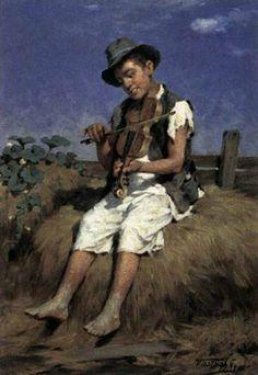 Thomas Bewick self portrait.