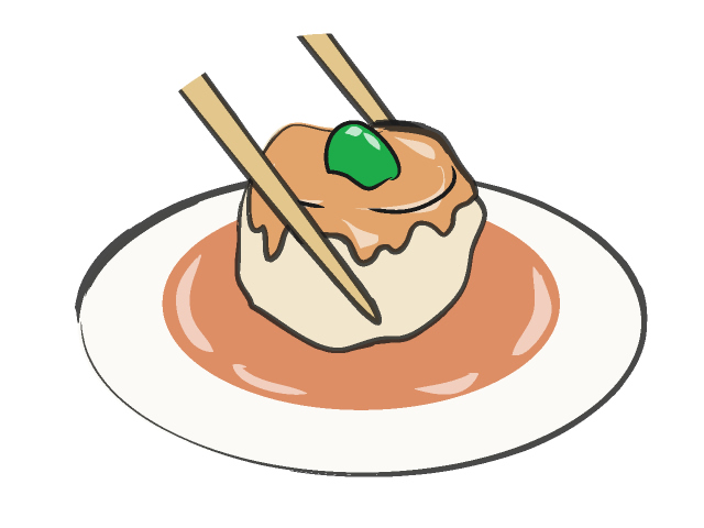 Dumpling Clipart.