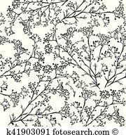 Gypsophila Clip Art and Illustration. 94 gypsophila clipart vector.