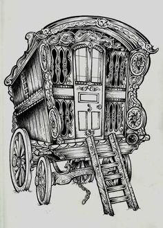 1521 Wagon free clipart.