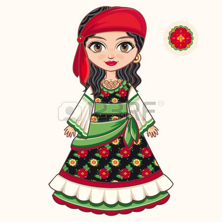 667 Gypsy Woman Cliparts, Stock Vector And Royalty Free Gypsy.