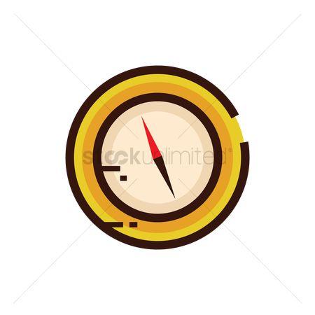 Free Gyro Compass Stock Vectors.