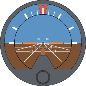Plane Attitude Indicator Clip Art at Clker.com.