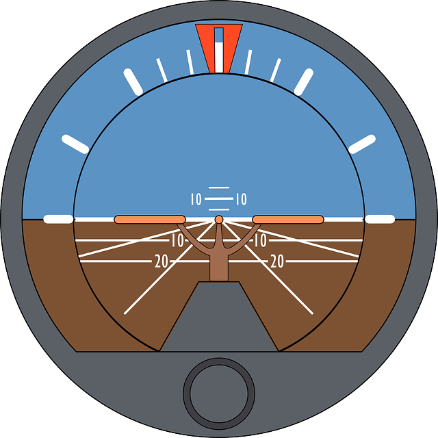 ARTIFICIAL HORIZON, ATTITUDE INDICATOR, GYRO HORIZON.