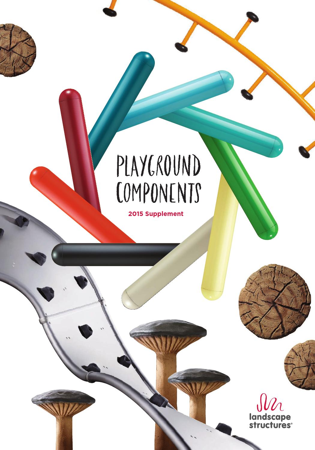 Landscape Structures 2015 Playground Components Supplement by.