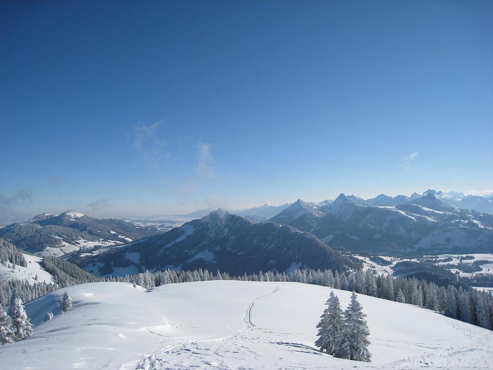 Free photo: Allgäu, Hörnle Wertacher, Winter.