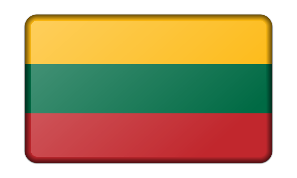 Free vector graphic: Banner, Decoration, Flag, Lithuania.