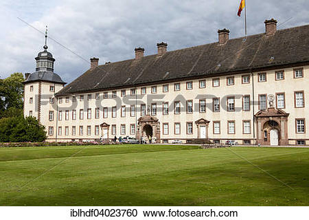 """Stock Photography of """"Imperial Abbey of Corvey, UNESCO World."""